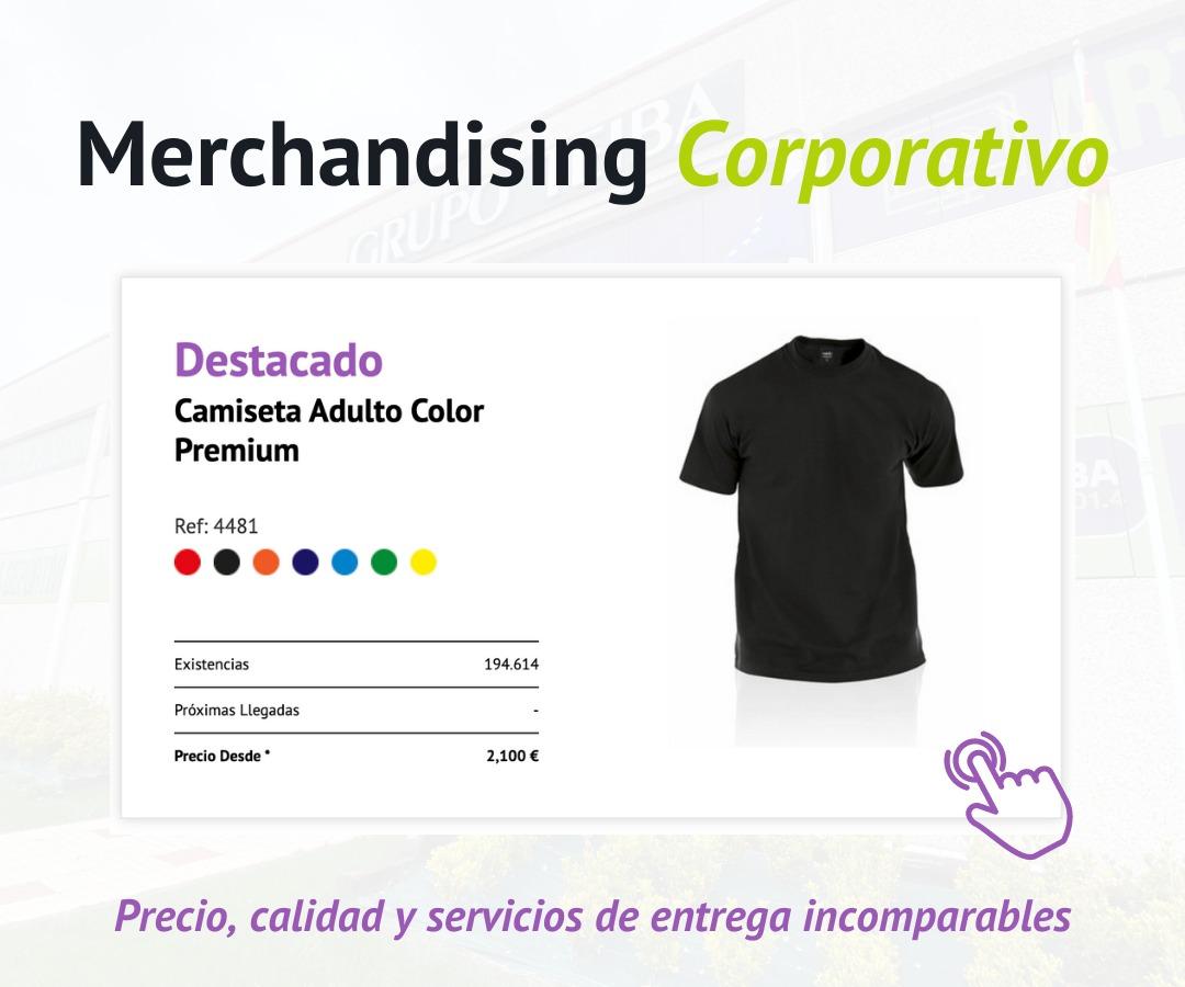 Grupo Teiba - Catálogo Merchandising Corporativo